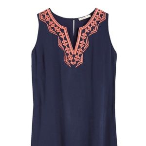 SKIES ARE BLUE Krystyna Embroidered Dress Size: SP